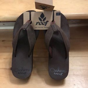 Reef Women's Cushion Brown Sandals! Sz.7 NWT!